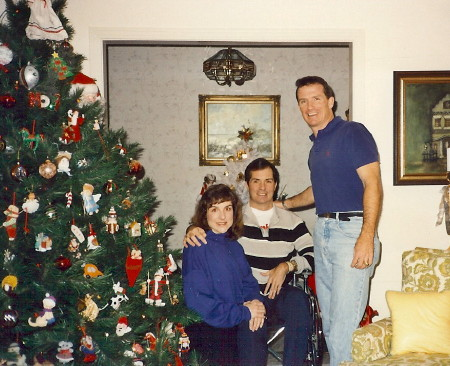 Tom, Lori and Gregg, '91