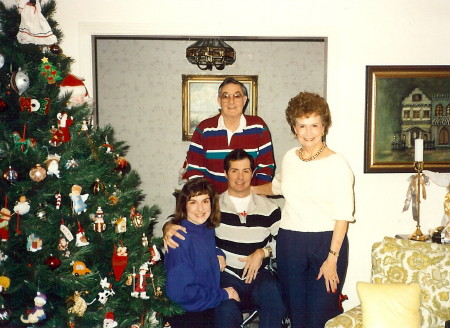 Tom, Lori, Pat and Ken, '91
