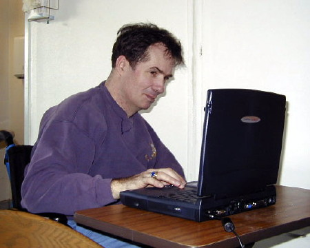 Tom's first computer.