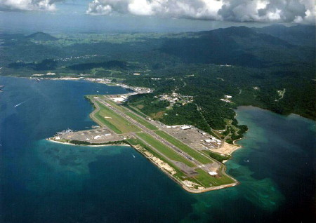 Cubi Point Naval Air Station in the Phillipines