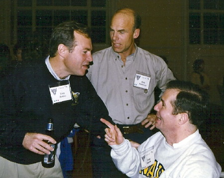 Tom Bakke and Dick Holloway with Tom.